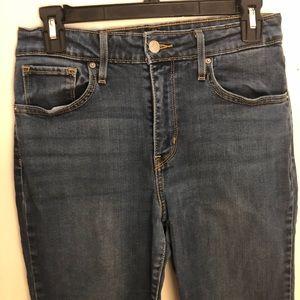 Levi's High Waist Jeans